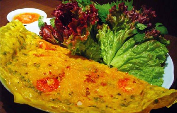 Bánh xèo Phan Thiết.