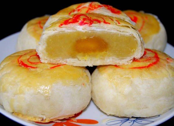 Bánh pía Sóc Trăng.
