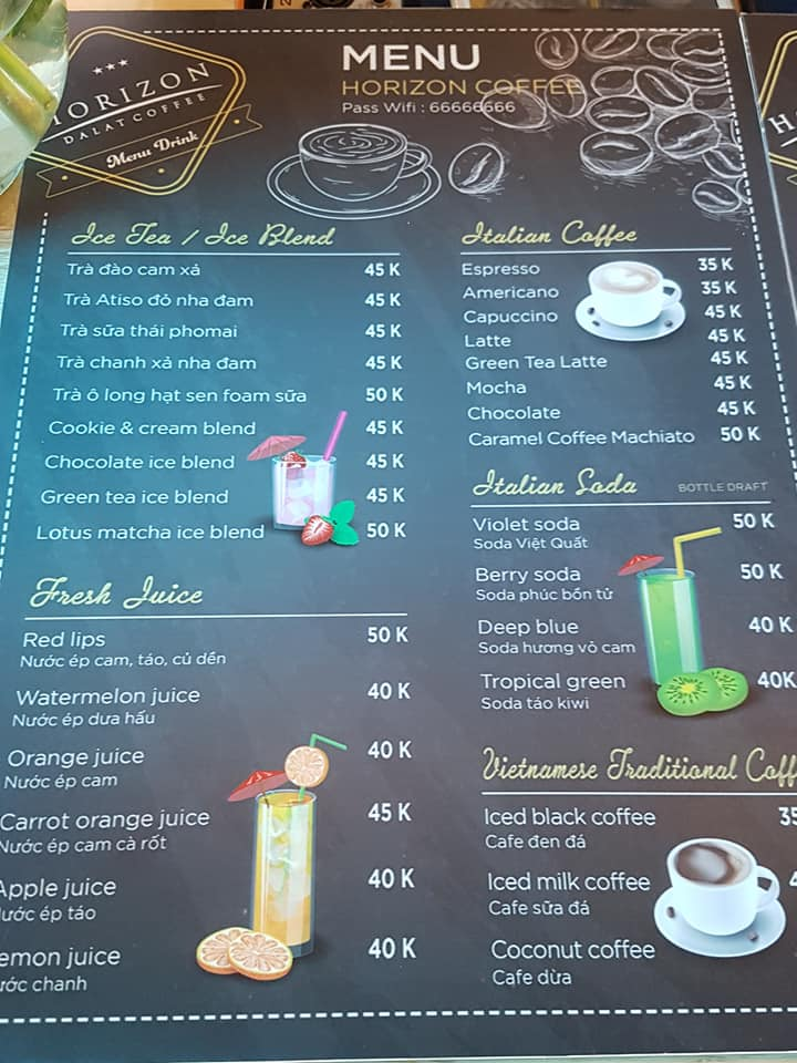 menu-horizon-da-lat-coffee